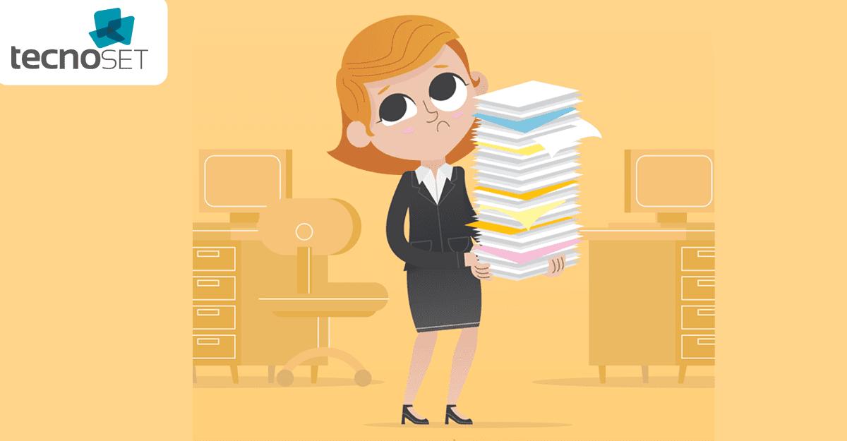 Saiba como reduzir o desperdício com papel na sua empresa!